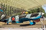 Lavochkin LaGG-3 in the Great Patriotic War Museum 5-jun-2014 Side.jpg