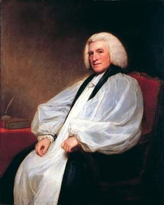 Knightbridge Professor of Philosophy - Edmund Law (1703-1787), by George Romney, 1781