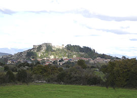 View of Le Caylar