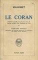 Le Coran - Traduction et choix de sourates par Edouard Montet, 1925.pdf
