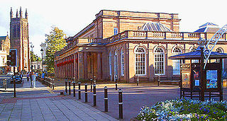 Royal Pump Rooms Grade II listed building in Leamington Spa, Warwickshire, England