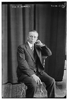 Lee Franklin Hanmer (1871-1961) in 1917.jpg