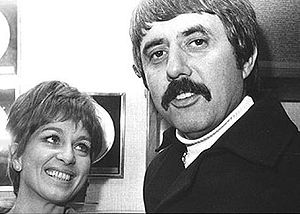 Siw Malmkvist - Siw Malmkvist and Lee Hazlewood in 1968