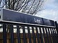 Lee station signage.JPG