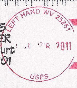 Left Hand, West Virginia - Image: Left Hand West Virginia