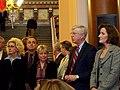 Legislators, Attorney General Miller and the First Lady (4454182209).jpg
