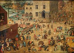 Pieter Bruegel vanem: Children's Games