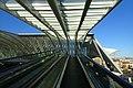 Liège Guillemins Futuristisch ogend treinstation 2.jpg