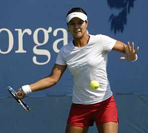 Li Na - Li Na at the 2009 US Open