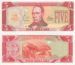 Liberian Dollar Wikipedia