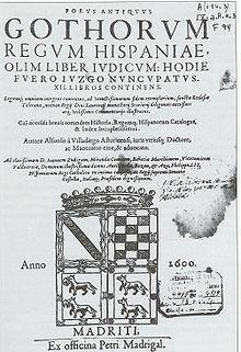 Liber Iudiciorum - Wikipedia, la enciclopedia libre