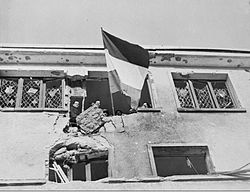 Liberation of Wiltz in Luxembourg