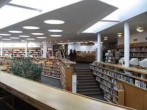 Lending library - Image: Library Wolfsburg Alvar Aalto photo by Christian Gänshirt