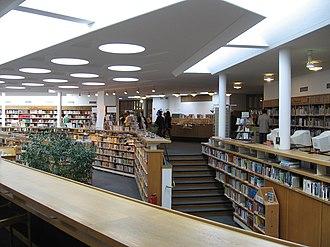 Lending library - Wolfsburg Municipal Library by Alvar Aalto