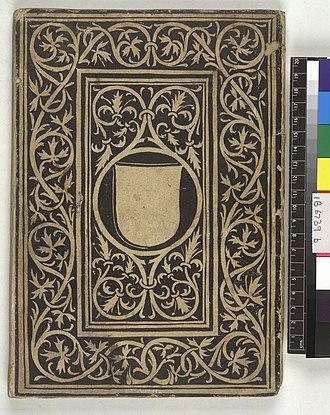 Accursius - Image: Libri feudorum (with the Glossa ordinaria of Accursius) German Das b uch des kaiserlichen Lehenrecht. Lower cover (IB6739)