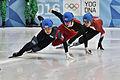 Lillehammer 2016 - Short track 1000m - Men Finals - Daeheon Hwang, Wei Ma, Shaoang Liu, Kiichi Shigehiro and Andras Sziklasi 7.jpg