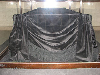 Lincoln Catafalque - The Lincoln Catafalque on display