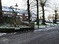 Lingering snow in Church Close - geograph.org.uk - 1631667.jpg
