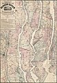 Lloyd's topographical map of the Hudson River - from the head of navigation at Troy to its confluence with the ocean at Sandy Hook - embracing an area of 4 miles on either side ... and the river LOC 2015591063.jpg