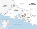 Locator map of Kanton Vitrolles.png