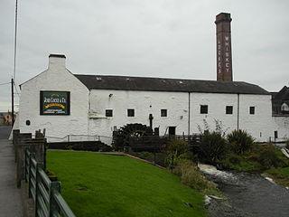 Kilbeggan Town in Leinster, Ireland