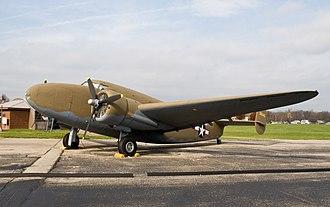 Lockheed Model 18 Lodestar - Image: Lockheed Lodestar