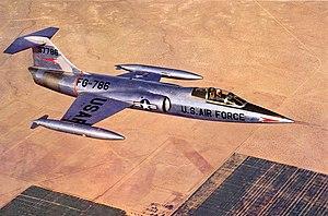 Lockheed XF-104 - Image: Lockheed XF 104