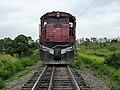 Locomotiva (tracionando de ré) no final do comboio que passava sentido Guaianã na Variante Boa Vista-Guaianã km 203 em Itu - panoramio (1).jpg