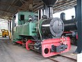 Locomotive West Coast Pioneers Museum Zeehan.JPG