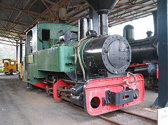 Zeehan - Image: Locomotive West Coast Pioneers Museum Zeehan