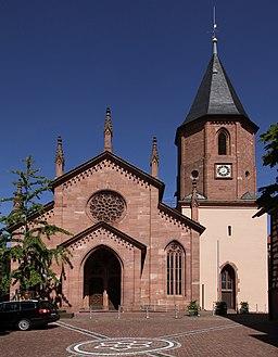 Loffenau Heilig Kreuz Kirche 01 gje