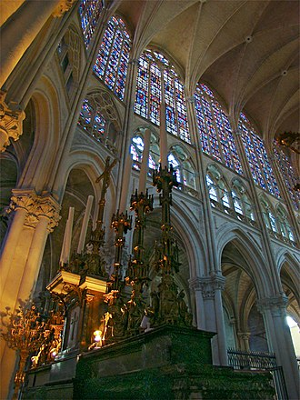 Tours Cathedral - Image: Loire Indre Tours 4 tango 7174
