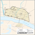 Londinium Archäologische Karte.png