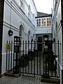 London-Woolwich, Royal Arsenal, Hopton Rd courtyard.jpg