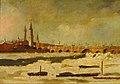 London Bridge during the Frost of 1795-1796, by Daniel Turner GAG 859.jpg