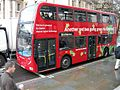 London Bus using hybrid technology -LX58DDN -route 24-6Dec2009.jpg