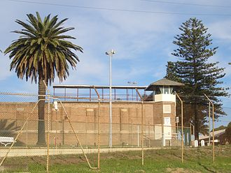 Long Bay Correctional Centre - A watchtower on the correctional centre north-western perimeter wall