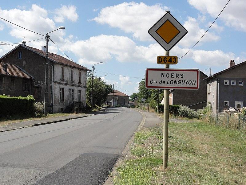 Longuyon (Meurthe-et-M.) entrée Noërs