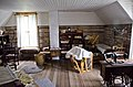 Looking SE through sewing room - second floor - Tinsley Living Farm - Museum of the Rockies - 2013-07-08.jpg