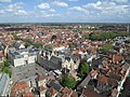 Looking down from the Bell Tower, Bruges, Belgium (17536914856).jpg