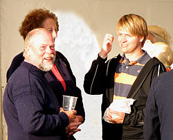 Lord de Sausmarez and Christian Corbet 2009.jpg