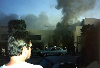 1992 Los Angeles riots 1992 riots following the beating of Rodney King
