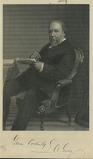 Louis Antoine Godey - Louis A Godey by Frederick Gutekunst
