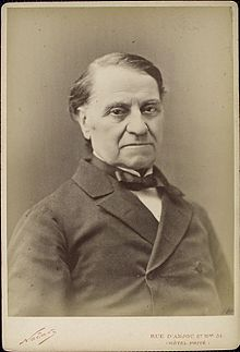 Louis Blanc, half-length portrait, facing front, with arms crossed]