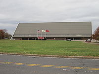 Louis Brown Athletic Center outside.JPG