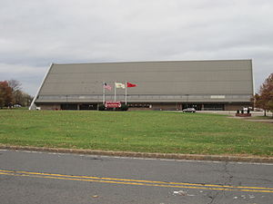 Louis Brown Athletic Center - Image: Louis Brown Athletic Center outside
