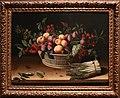 Louise moillon, natura morta con cesto di frutta e mazzo di asparagi, 1630.jpg
