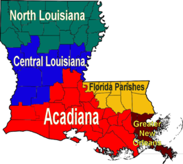 FileLouisiana Regions Mappng Wikimedia Commons - Loisiana map