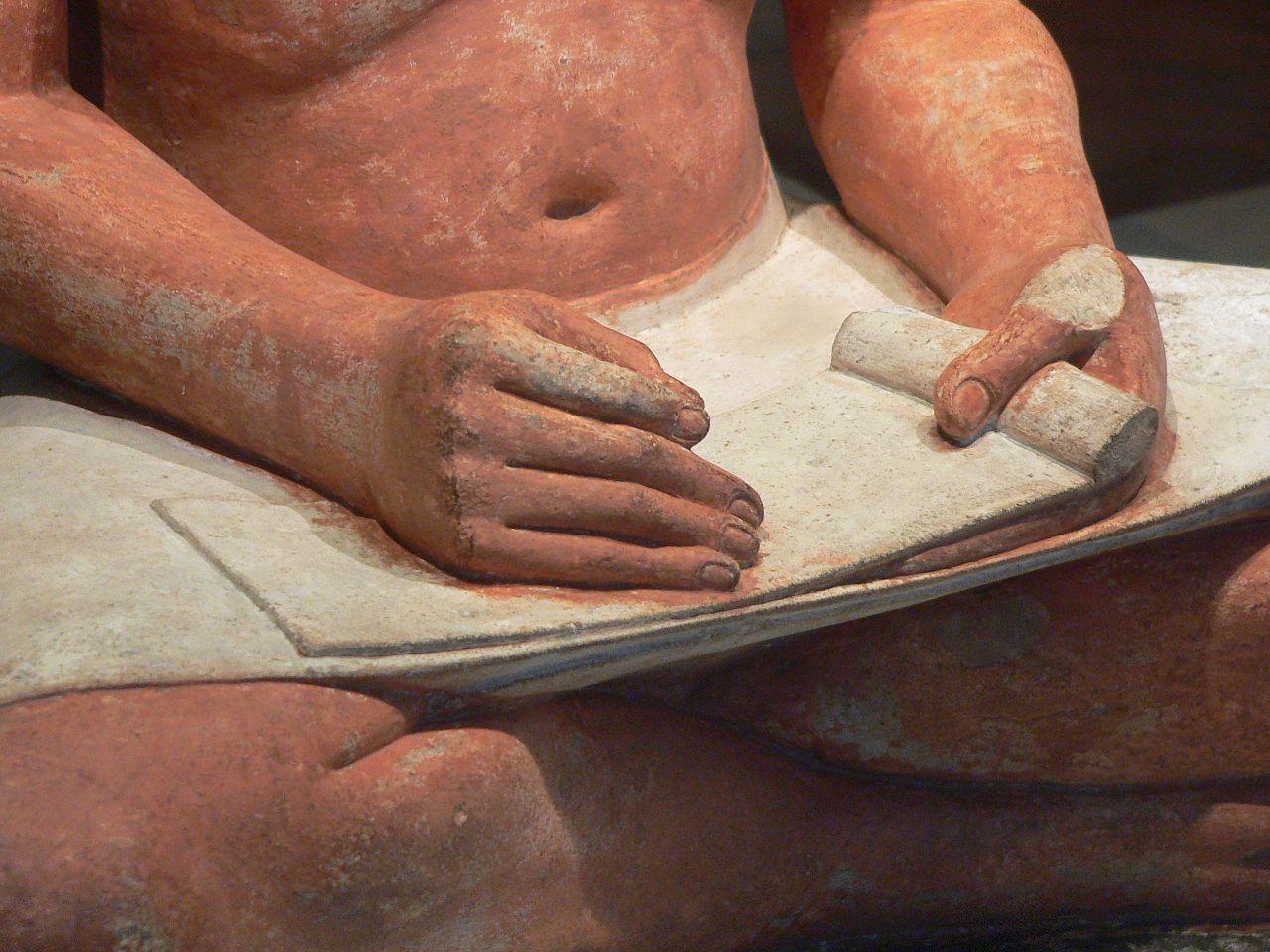 El escriba 1280px-Louvre-antiquites-egyptiennes-p1020382