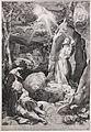 Luca ciamberlano da francesco villamena e f. barocci, paesaggio con stimmate di s. francesco, 1599 (rotterdam, museo boijmans van beuningen).JPG
